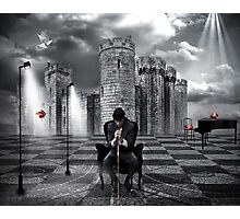 The Piano Man... Photographic Print