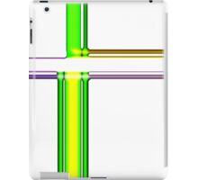 Tube Colors #6.1 No Background iPad Case/Skin