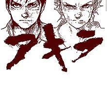 Kaneda VS Tetsuo by goomba1977