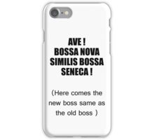 here comes the new boss iPhone Case/Skin