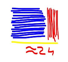 Approximately 24 - Red, Yellow, Blue  by molico