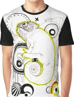 Chameleon Vector Dynasty Graphic T-Shirt