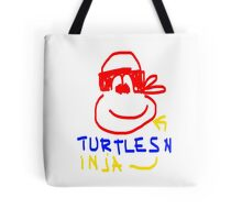 Turtles Ninja - Red, Yellow, Blue  Tote Bag