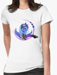 Raver Luna Womens Fitted T-Shirt