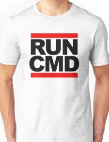 RUN CMD - black version Unisex T-Shirt
