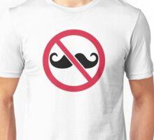 No Mustache Unisex T-Shirt