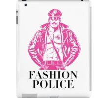 FASHION POLICE iPad Case/Skin