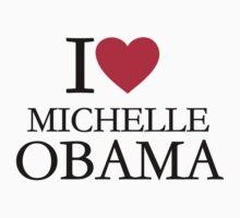 I love Michelle Obama by Designzz