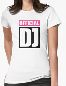 Official DJ Womens Fitted T-Shirt