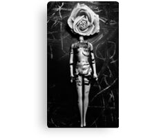 Beautiful Mind- Black and White Canvas Print