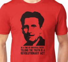 Truth is Revolutionary - George Orwell Unisex T-Shirt