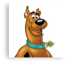 Natural Scooby Doo Canvas Print