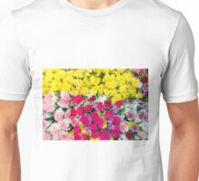 Bouquets of flowers Unisex T-Shirt