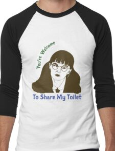 Moaning Myrtle Movie Graphic Men's Baseball ¾ T-Shirt
