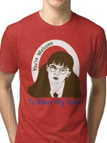 Moaning Myrtle Movie Graphic Tri-blend T-Shirt