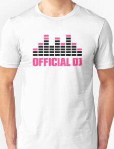 Official DJ Equalizer T-Shirt