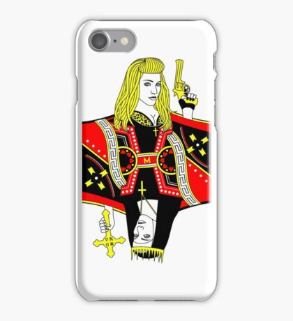 Madonna Queen of Hearts [phone] iPhone Case/Skin