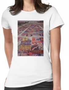 AIDS Quilt Womens Fitted T-Shirt