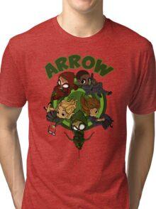 Arrow S3 Promo Poster Variant - Version 3 Tri-blend T-Shirt