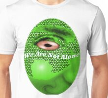 'We Are Not Alone' -- Eye of the Reptile Unisex T-Shirt