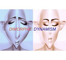 Dimorphic Dynamism Photographic Print