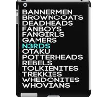 Nerd Sampler Pack  iPad Case/Skin