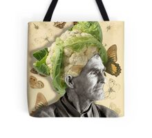 cauliflower, collage Tote Bag