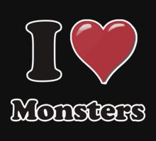 I Love Monsters by ColaBoy