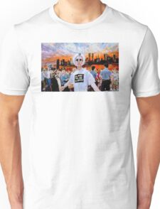 AIDS Sunset World Trade Center Unisex T-Shirt