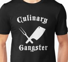 Culinary Gangster Cooking Badman Chef Cleaver Mens T-Shirt Unisex T-Shirt