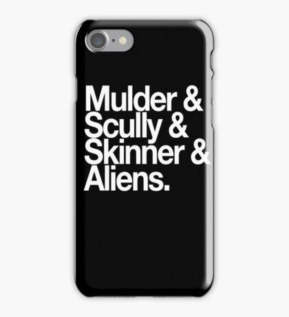 X Files iPhone Case/Skin