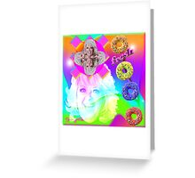 Go Nuts with Paula's Fresh Donuts Greeting Card