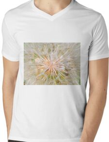 Inside the Dandelion Mens V-Neck T-Shirt