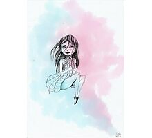Girl in a dream Photographic Print