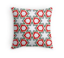 Christmas Candy Canes #4 Throw Pillow