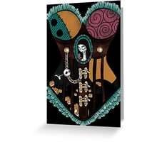 Ragdoll Corset Greeting Card