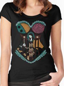 Ragdoll Corset Women's Fitted Scoop T-Shirt