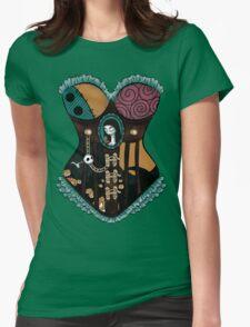 Ragdoll Corset Womens Fitted T-Shirt