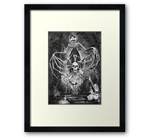 Watch Out For The Ghouls During Halloween Framed Print