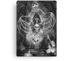 Watch Out For The Ghouls During Halloween Canvas Print