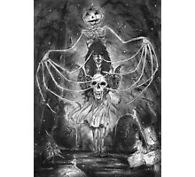 Watch Out For The Ghouls During Halloween Photographic Print
