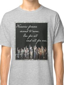 Newsies Forever. Second to none. Classic T-Shirt