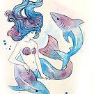 Blue Mermaid by NeverBird
