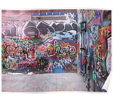 Graffiti Alley Poster