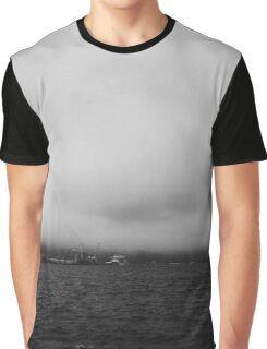 Ship Across The Harbour Graphic T-Shirt