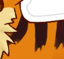 Growlithe Corgi Sticker