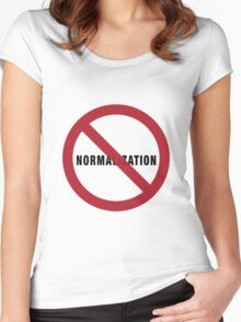 No Normalization Women's Fitted Scoop T-Shirt
