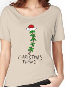 Christmas Thyme Women's Relaxed Fit T-Shirt
