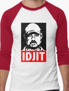 "Supernatural Bobby Singer ""IDJIT"" Men's Baseball ¾ T-Shirt"