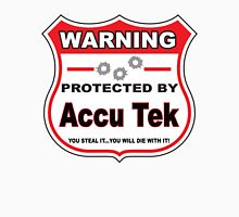 Accu Tek Protected by Accu Teck Shield Unisex T-Shirt